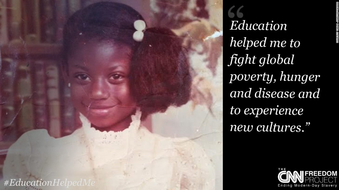 "To highlight how education can help end child labor, you sent us your old school photos and told us how education has helped you. This submission is from <a href=""https://twitter.com/carlajohnsonATL"" target=""_blank"">@carlajohnsonATL</a>, Atlanta, USA. Click through the slideshow to see more."
