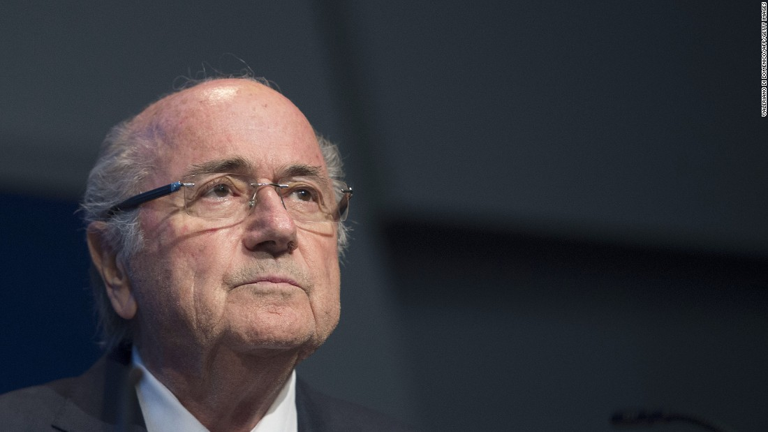 Blatter ruled FIFA for 17 years, but football's world governing body was forced to look for a new head after it fell into crisis last year. Blatter has since been banned from all football-related activities.