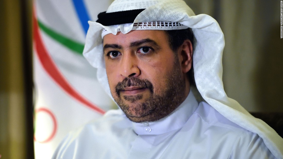 Sheikh Ahmad Al-Fahad Al-Sabah of Kuwait sits on the boards of FIFA and the International Olympic Committee. He is also president of the Olympic Council of Asia. His country, however, is banned from participating in FIFA and Olympic events.