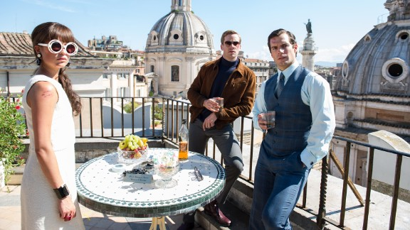 """Henry Cavill brings """"The Man from U.N.C.L.E."""" to the big screen, based on the 1960s spy TV series, in August."""