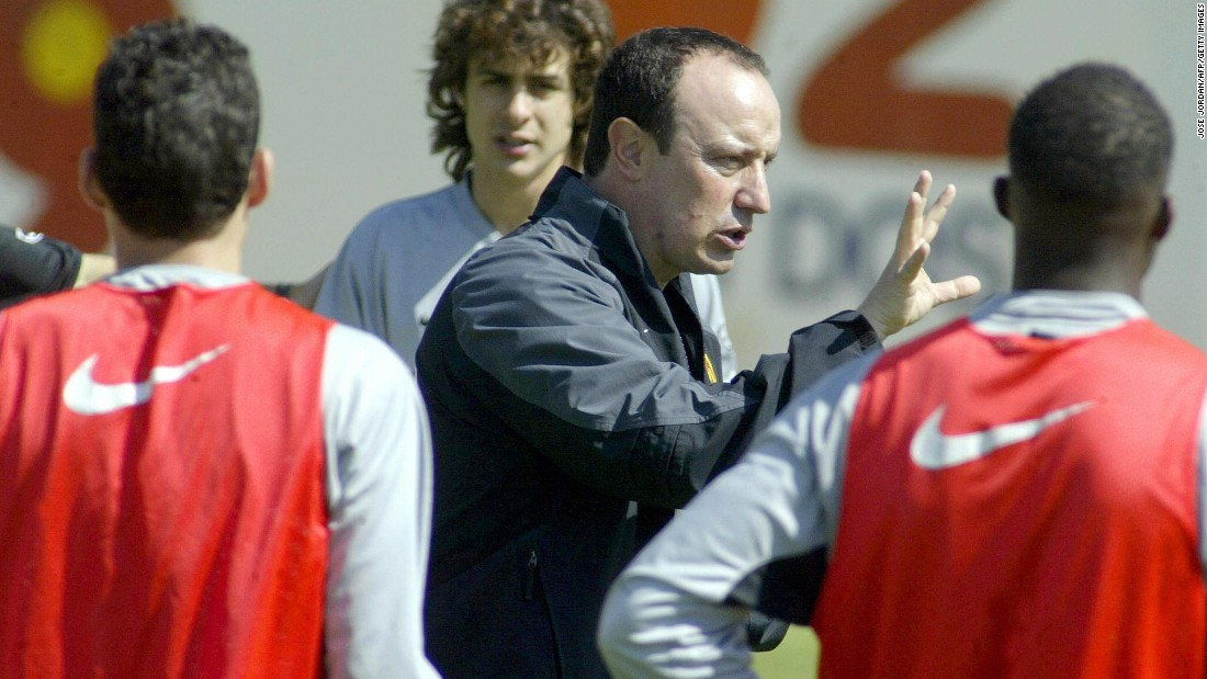 Benitez made his name at Valencia, guiding the club to two La Liga titles as well as the UEFA Cup. The 2002 title win was the club's first in 31 years.
