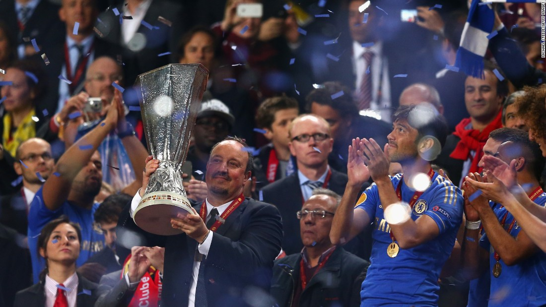 Despite being sacked just six months into his job at Inter Milan in 2010, Benitez bounced back by guiding Chelsea to Europa League glory in 2013 during his spell as interim boss.