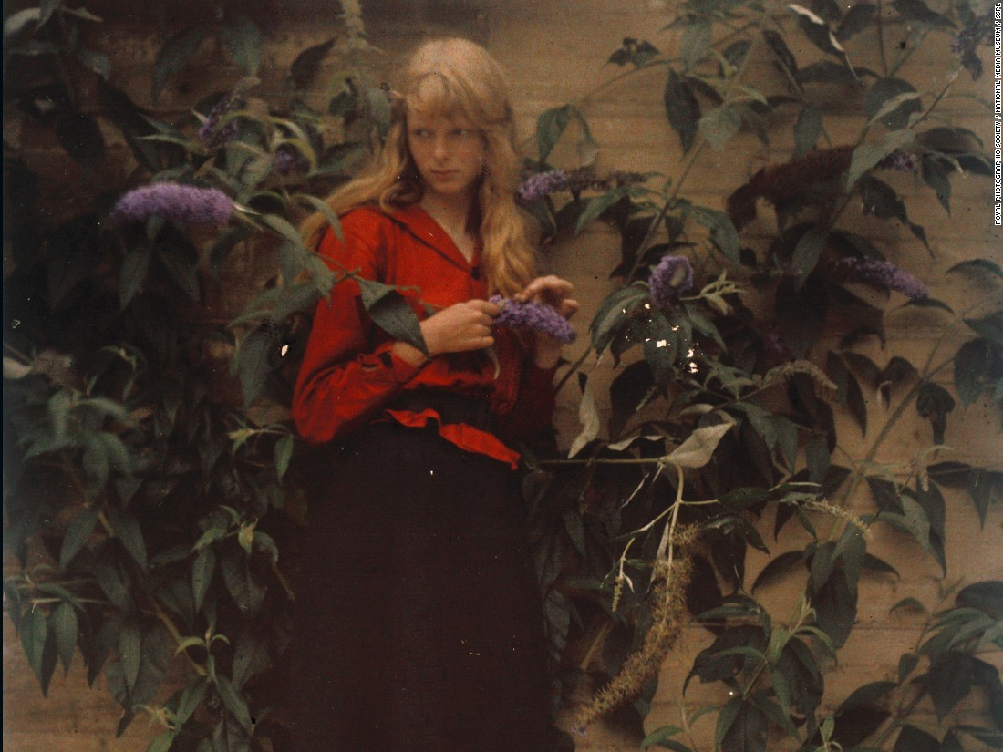 "Some of the original Autochrome photographs in this series are displayed in the exhibition <a href=""http://www.nationalmediamuseum.org.uk/planavisit/exhibitions/drawn-by-light/about"" target=""_blank"">Drawn By Light: The Royal Photographic Society Collection</a>, at the National Media Museum, Bradford, until 21 June 2015"
