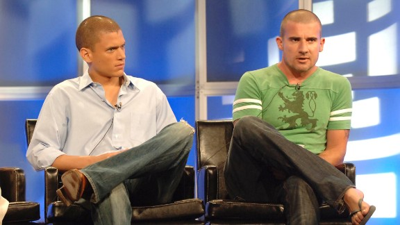"""The action/conspiracy-obsessed series """"Prison Break"""" is the latest series getting a revival at Fox, reuniting Wentworth Miller, left, and Dominic Purcell."""