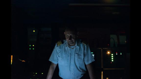 Danish-born Captain Danielsen is referred to as Master Danielsen at sea.