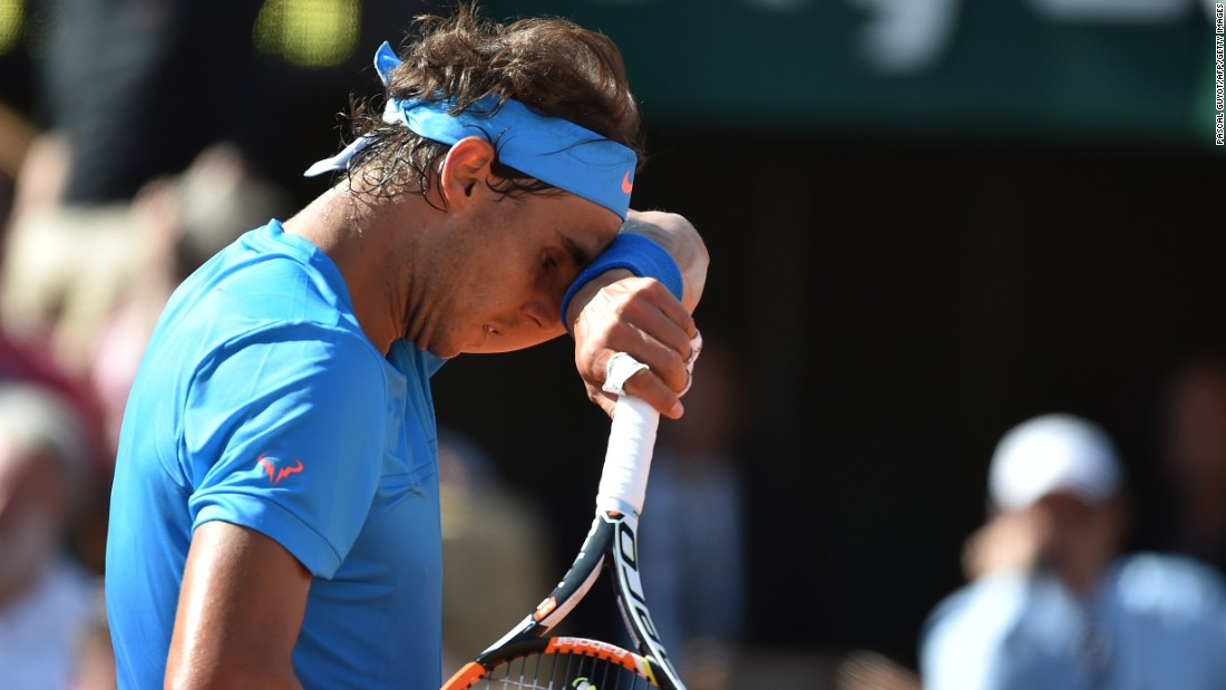 It was a 29th birthday to forget for Nadal, the nine-time champion at Roland Garros. His last and only other loss at the French Open came in 2009 against Robin Soderling.