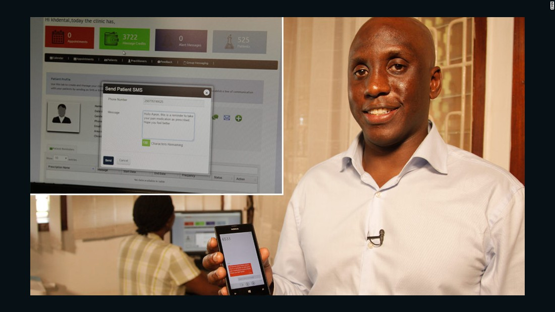 Kaakpema Yelpaala is a social entrepreneur in Kampala. After years working in the public health sector, he was inspired to start a business providing healthcare solutions through mobile tech.  Access Mobile was born, and their first product was Clinic Communicator -- a platform that facilitates doctor-patient interaction through text messages and email.