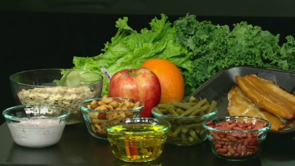 The Mediterranean diet is renowned for its health benefits. It contains low levels of red meat, sugar and saturated fats and is high in fish and unsaturated fats such as olive oil, fruits, vegetables and legumes.