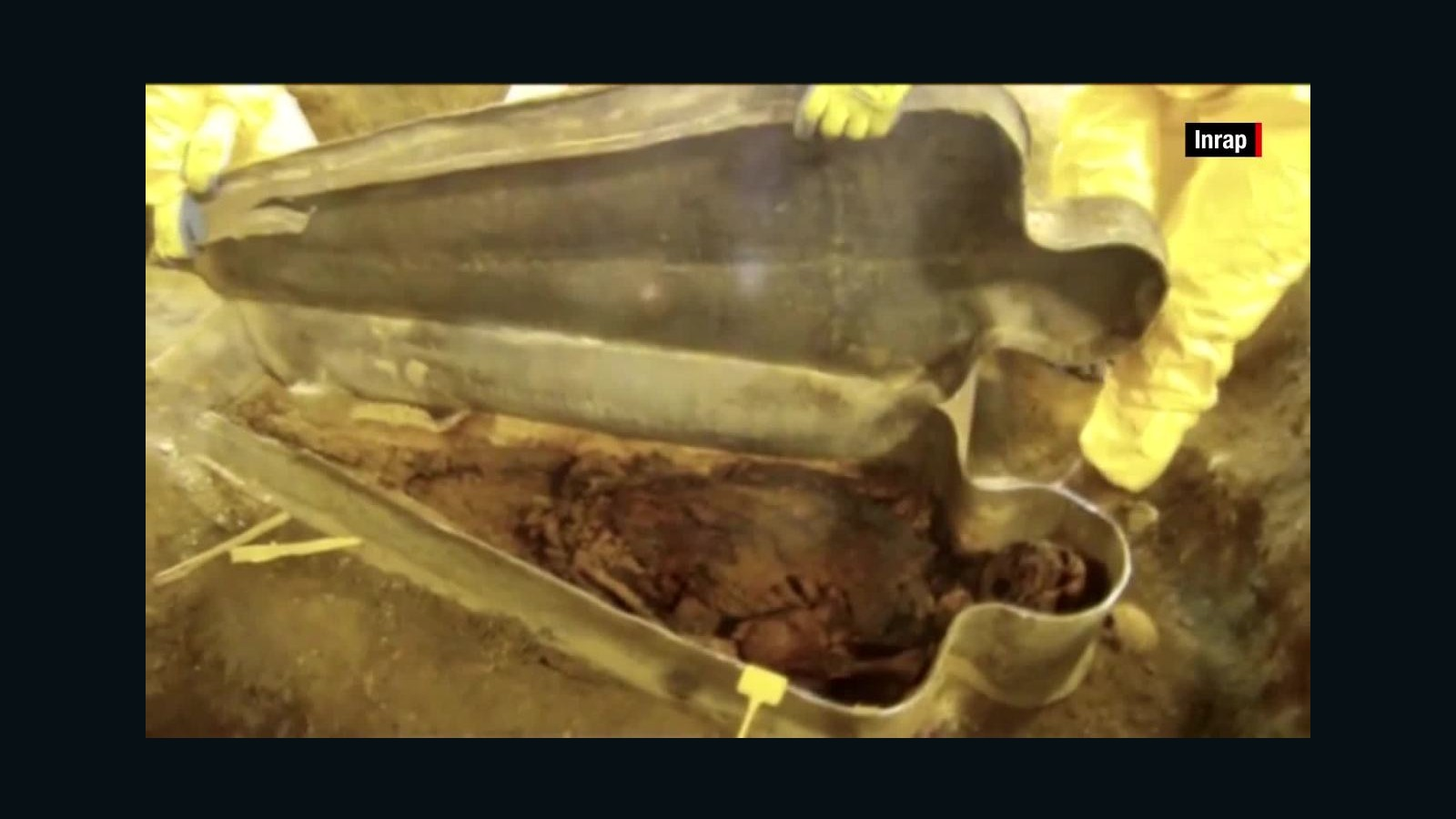In China, found a coffin with an incorruptible body, which is 300 years old