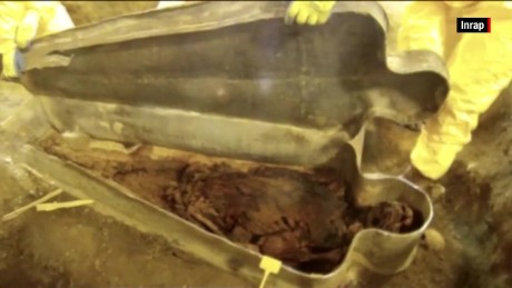350-year-old noblewoman discovered in France