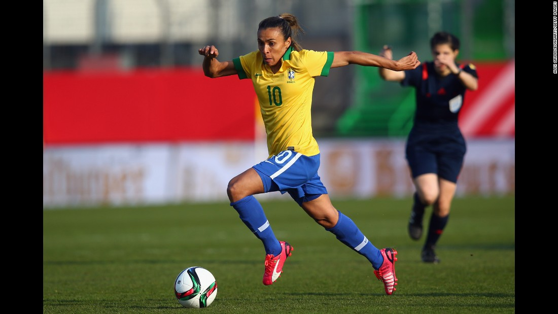 "The five-time FIFA Woman's Player of the Year remains the face of the game. It was at the 2007 World Cup in China that she first came to the fore, scoring seven goals as Brazil finished runners-up. The 29-year-old, nicknamed ""Pele with a skirt"" has yet to win a World Cup or Olympic title -- and this could be her final chance to add the biggest prize of all to her legacy."