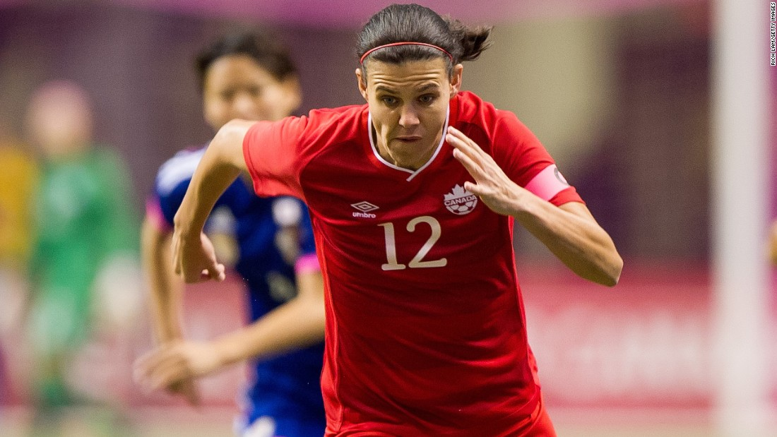 If Canada is to win the World Cup on home soil then Sinclair will be the woman to lead it. The striker, who turns 32 on June 12, made her debut at the age of 18 and has become a legend of the game. She will win her 224th international cap in Saturday's opening game against China and will be hoping to add to her incredible tally of 153 goals.