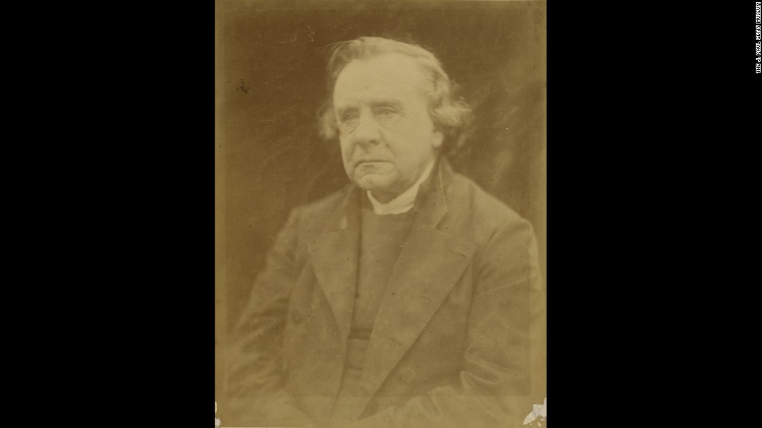 "Bishop of Winchester Samuel Wilberforce was a brilliant speaker, a voluminous letter writer and notable opponent of Darwin's theory of evolution. His manner wasn't convincing to everybody -- British Prime Minister Benjamin Disraeli called him ""Soapy Sam"" for his slickness. Cameron took Wilberforce's picture in 1872, a year before his death."