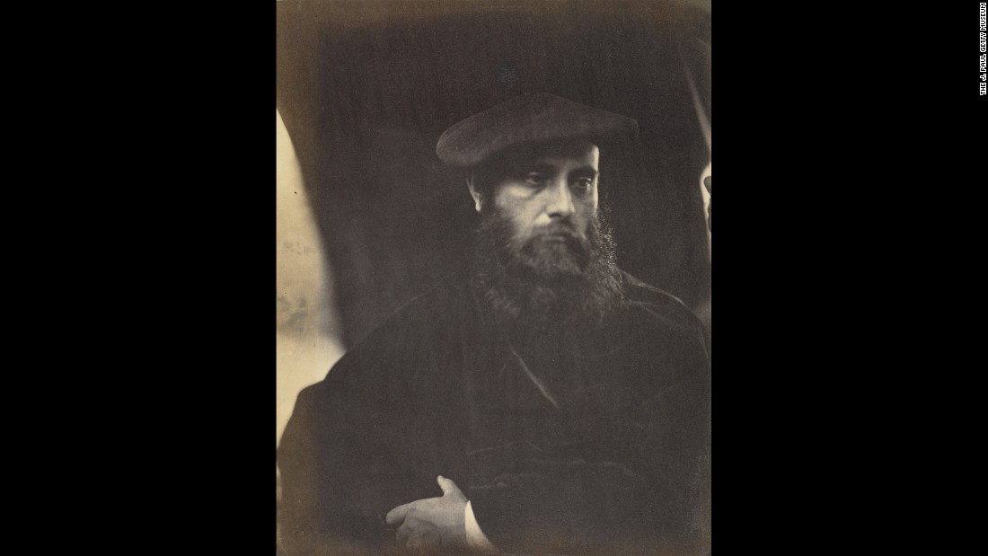 Writer William Rossetti was part of the famed Rossetti family that included painter Dante Gabriel Rossetti and writer Gabriele Rossetti. William was a key member of the Pre-Raphaelite Brotherhood, which hearkened back to 15th-century Italy for its artistic model. This photo is from 1865.