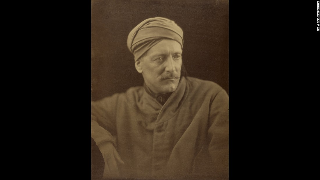 Gifford Palgrave was a writer and Arabic scholar. His intriguing life involved time in India, a conversion to Catholicism (he was a Jesuit priest for a time), travels in the Arabian peninsula and a stint as a diplomat in Uruguay. Cameron took his picture in 1868.