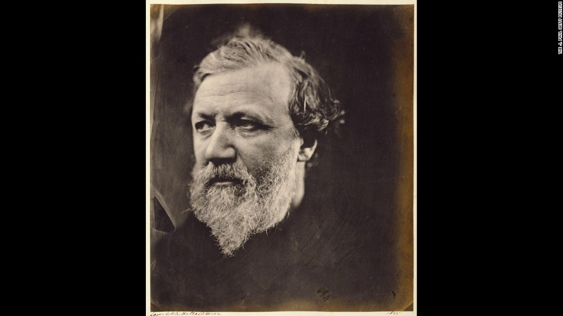 "You might call Julia Margaret Cameron the Annie Leibovitz of the 19th century. At a time when photography was still an evolving art form and dominated by men, she was taking stunning pictures of some of the era's most notable personalities. Robert Browning, pictured here in 1865, was one of the leading poets of the Victorian era. His works include ""Fra Lippo Lippi,"" ""My Last Duchess"" and ""The Pied Piper of Hamelin."""