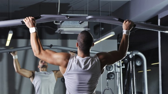 Pull-up: Done improperly, pull-ups can lead to shoulder issues.