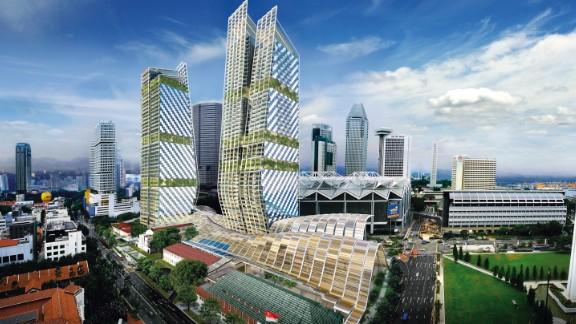 Singapore's developments have strict sustainability principles