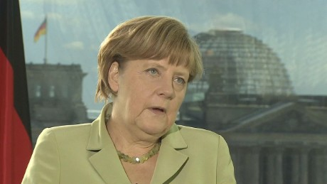 Merkel: Talks are aimed at keeping Greece in Eurozone