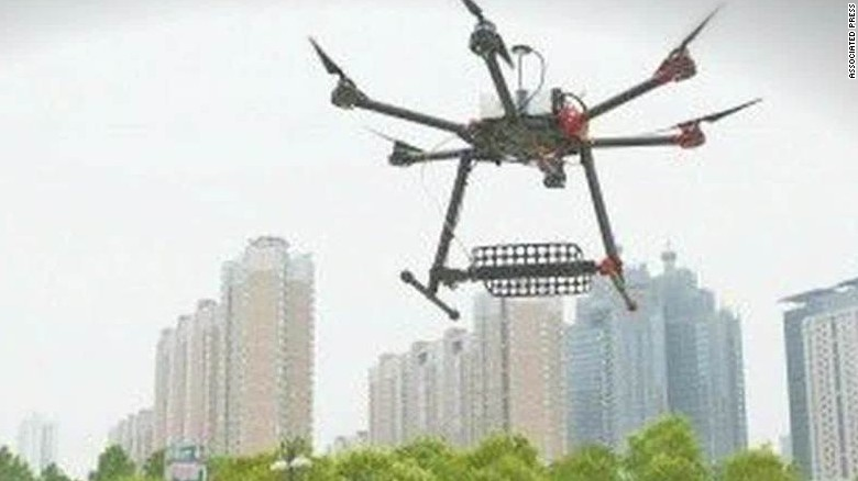 china gaokao test cheating prevention drones sesay_00005618