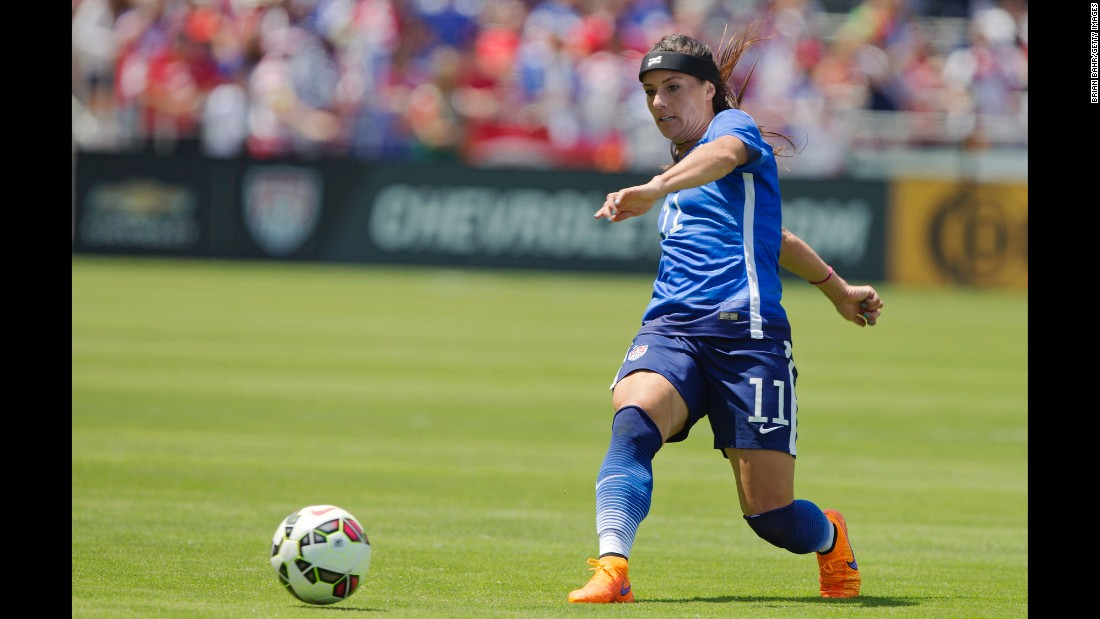 Right back Ali Krieger was one of four U.S. players who played every minute of the 2011 World Cup, and the 30-year-old has started most of the team's matches this year. She is one of the team's best attacking defenders.