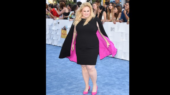 Actress Rebel Wilson has gone a step beyond worrying about those who criticize her for her weight: She
