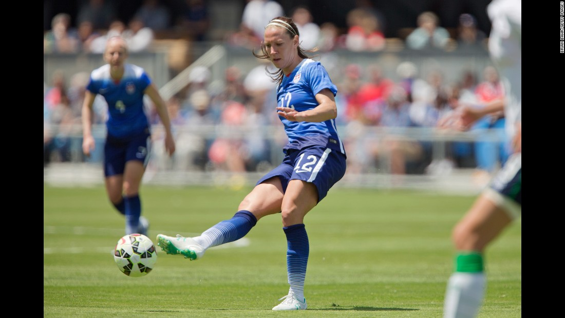 Playmaking midfielder Lauren Holiday was U.S. Soccer's Female Athlete of the Year in 2014, and she is likely to play a key role for the U.S. team in Canada. She can create goals as well as score them. She's scored 23 in 124 matches.