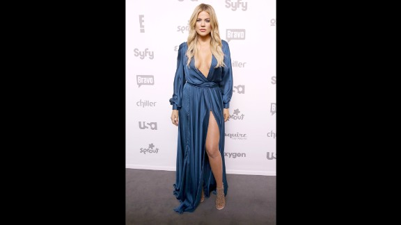 "Reality star Khloe Kardashian has endured harsh commentary, including being called the ""fat Kardashian."" These days, she"
