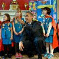Obama girl scouts