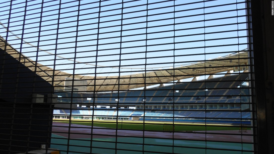 The state-of-the-art 60,000-seater Jaber Al-Ahmad International Stadium in Kuwait was completed in 2007, yet has remained mostly shut due to structural concerns.