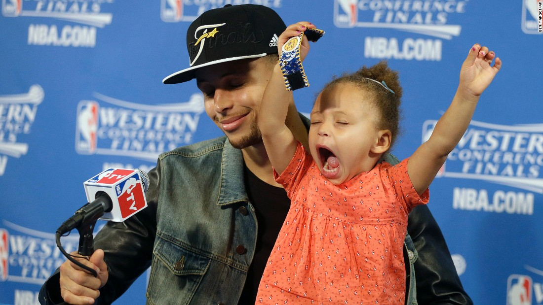 Riley Curry's 7 most adorable moments - CNN