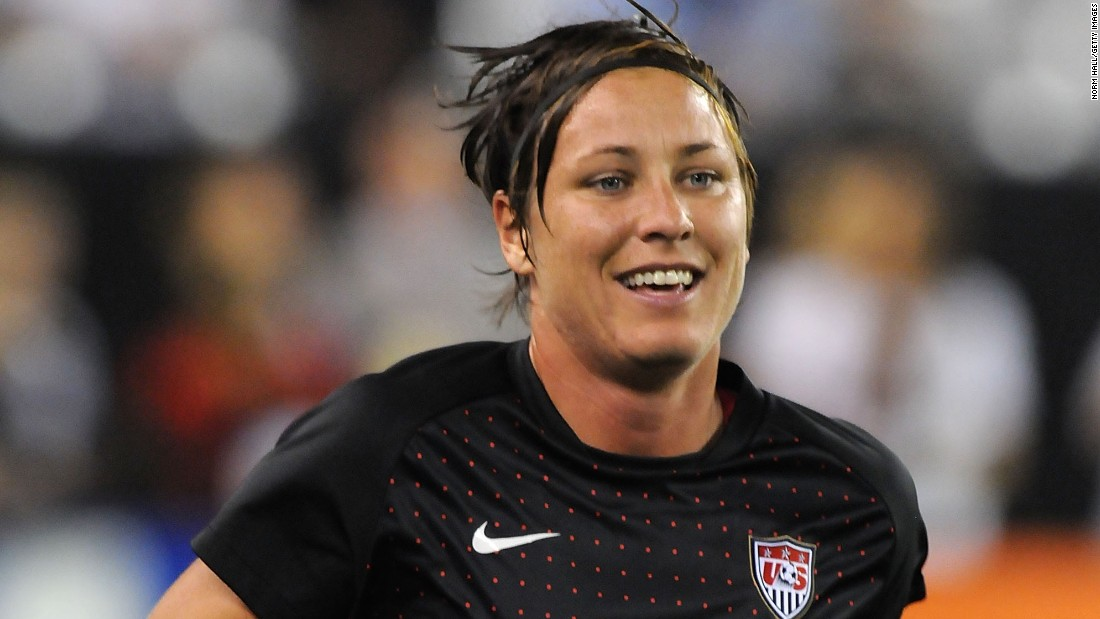 No one in the world -- man or woman -- has scored more goals in international soccer than Abby Wambach. She has scored 182 times in 242 appearances with the U.S. national team, and this will be her fourth World Cup. Wambach, who at 5-foot-11 is the tallest person on the team, is an imposing figure in the penalty box and a clinical header of the ball. She was the 2012 FIFA World Player of the Year.