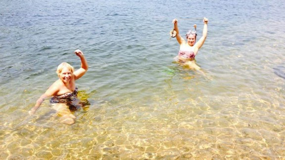 """""""We have swum in that frigid water until we were pruney. We have hiked through those woods and picked huckleberries until our fingers were blue and our legs were sore."""" -- Yvonne Owens, St. Johnsbury, Vermont"""