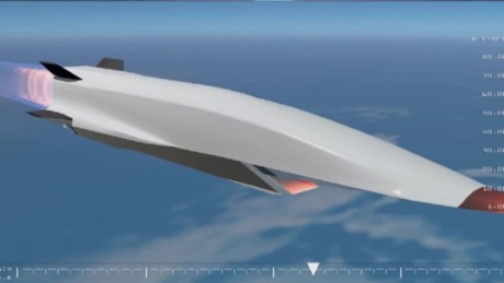 hypersonic aircraft to go 5 times the speed of sound cnnpolitics
