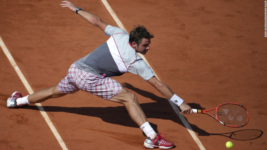 Wawrinka is looking to accomplish the rare feat of winning both the junior and men's titles at the French Open.