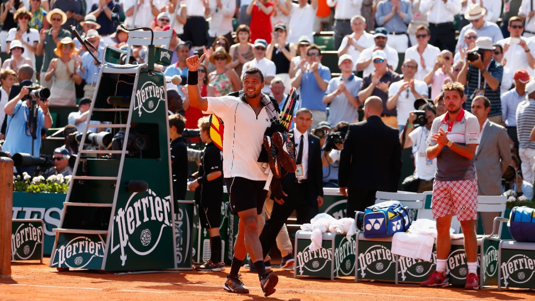 Ultimately he failed in his bid to become the first Frenchman to make the Roland Garros final since Henri Leconte in 1988.