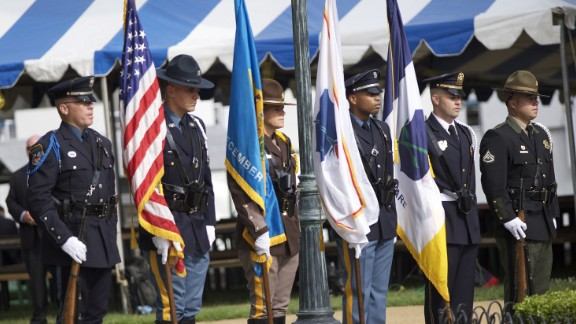 An honor guard stands at the viewing for Beau Biden at St. Anthony of Padua in Wilmington, Delaware on Friday June 5.