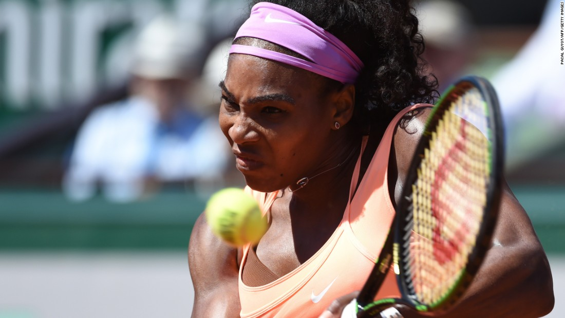By comparison, the far more experienced Williams was chasing the 20th grand slam crown of her career.
