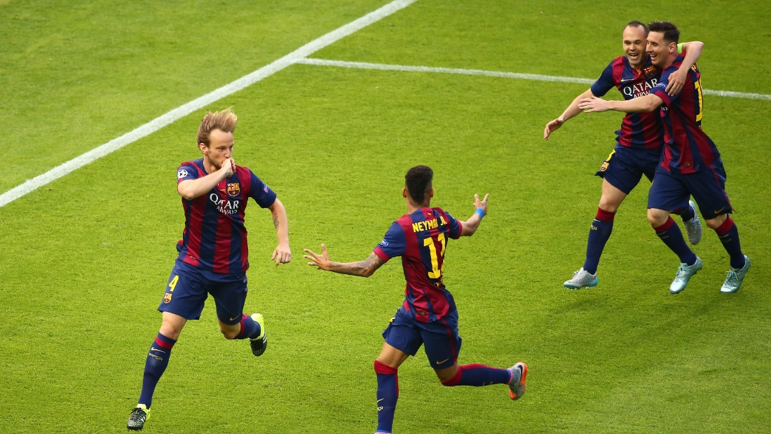 Barca Defeat Juve To Claim European Crown Cnn
