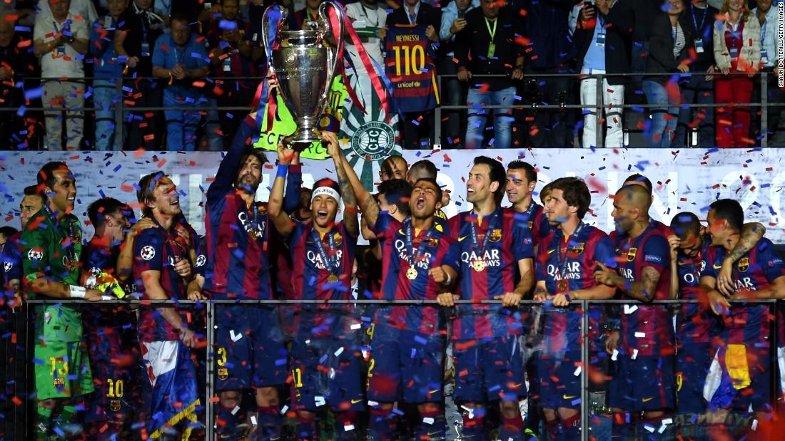 Barca Defeat Juve To Claim European Crown Cnn
