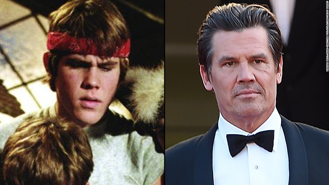 "Josh Brolin, son of actor James Brolin, was 17 when he landed his first onscreen role in ""Goonies"" playing Mikey's protective older brother, Brand. It would be another two decades before his career took off thanks to his role in the 2008 Academy Award-winning film, ""No Country for Old Men."" He also plays the villain Thanos in Marvel movies ""Guardians of the Galaxy"" and ""Avengers: Age of Ultron."""