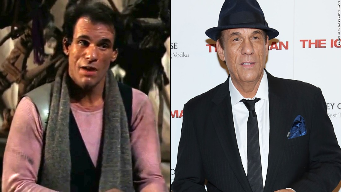 "Singer and actor Robert Davi showed off his vocal range in ""Goonies"" playing Mama Fratelli's classical music-loving henchman. His acne-scarred face was already familiar in Hollywood thanks to numerous TV roles. He sealed his villain legacy in 1988's ""Die Hard,"" 1989's ""License to Kill"" and many roles since then. He also released an album, ""Davi Sings Sinatra,"" in 2014."