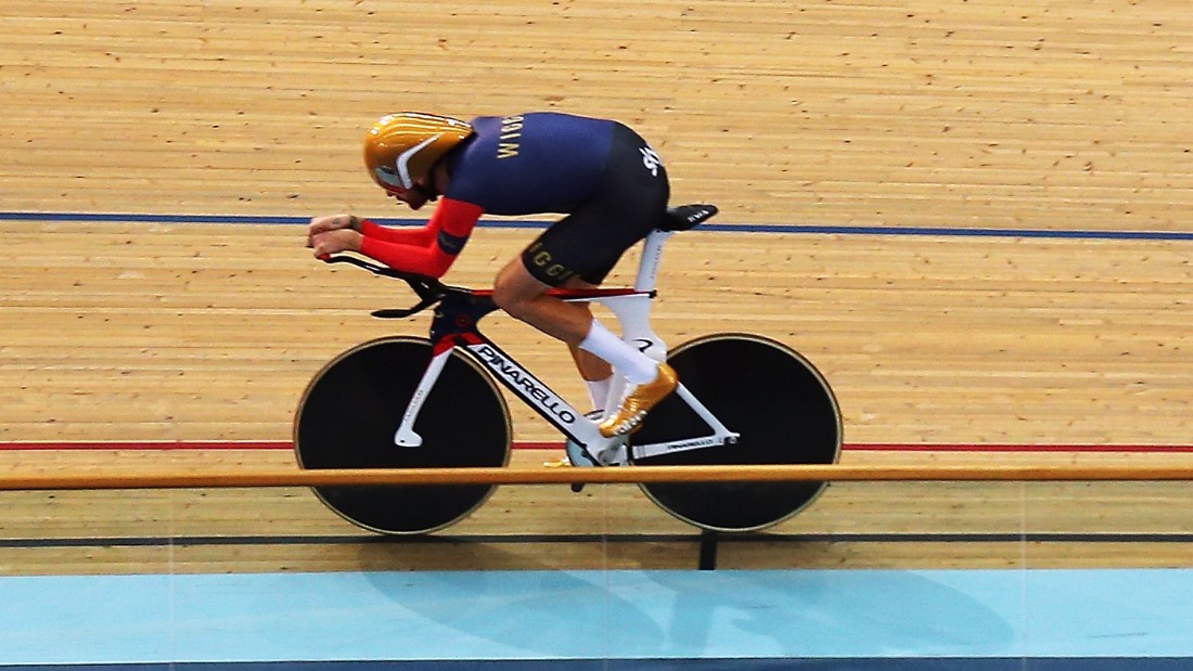Wiggins recently broke the world hour record at the same velodrome used for the London 2012 Olympic Games.