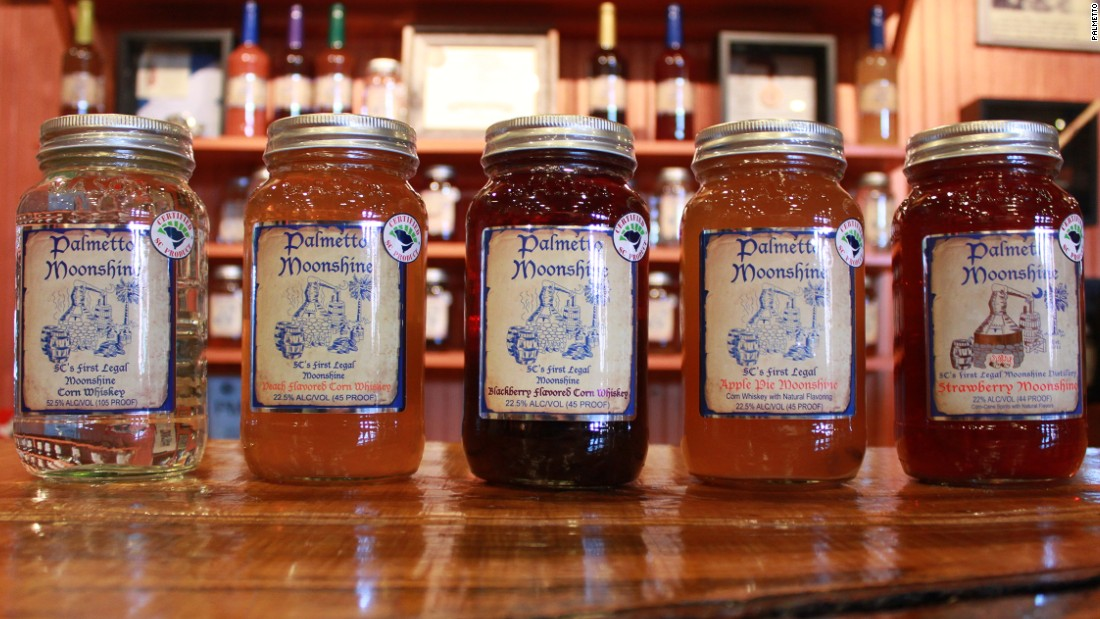 Now legal to produce in some U.S. states, moonshine -- clear, unaged whiskey -- is being exported around the world.