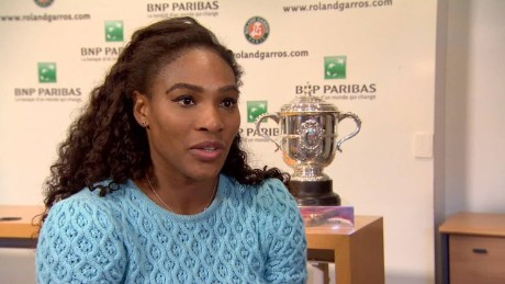 Serena Williams is French Open Champion