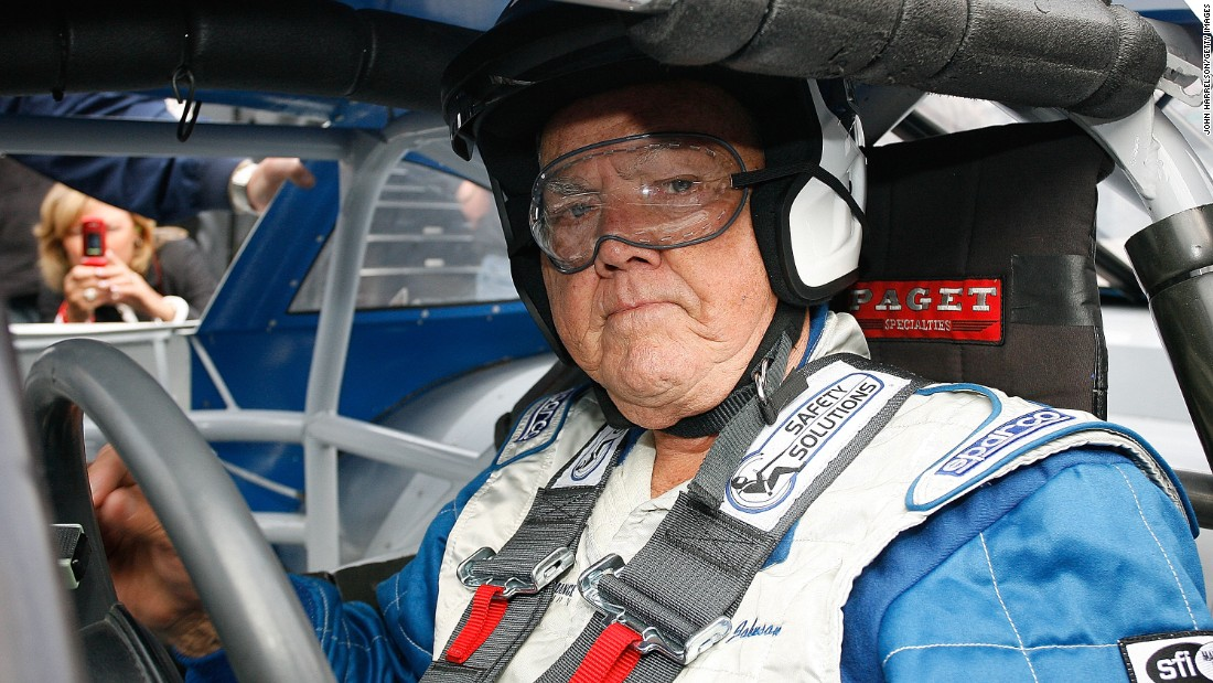 "Former Nascar driver Junior Johnson now runs the popular <a href=""http://www.juniorsmidnightmoon.com/"" target=""_blank"">""Midnight Moon"" brand of moonshine</a>."