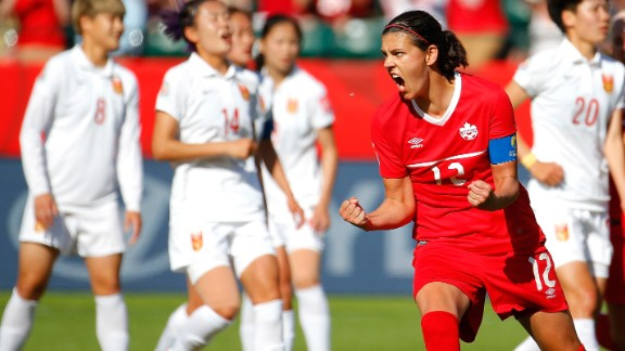 Christine Sinclair in 2015
