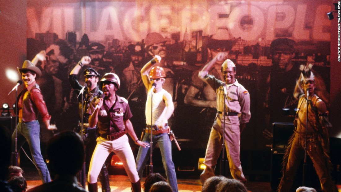 "Disco ruled the charts in the late '70s but found some unlikely superstars in the form of the Village People. Their name was inspired by New York's Greenwich Village, which had a large gay population at the time, and the group became known for their onstage costumes and suggestive lyrics. In 1978, their songs ""Macho Man"" and ""Y.M.C.A."" became massive hits and brought them mainstream success."