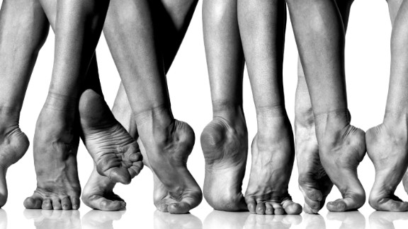 """Schatz has always been fascinated by the human form, and in his distinguished career pointed his lens at everyone from elite athletes, to pregnant woman, and in this image, ballet dancers.<br />""""Each project is like a child -- you don't talk about favorites,"""" he said.<br />""""I've done many more projects than the 32 in this book. And I've loved every one, I feel that I could continue, that none are really ever finished."""""""
