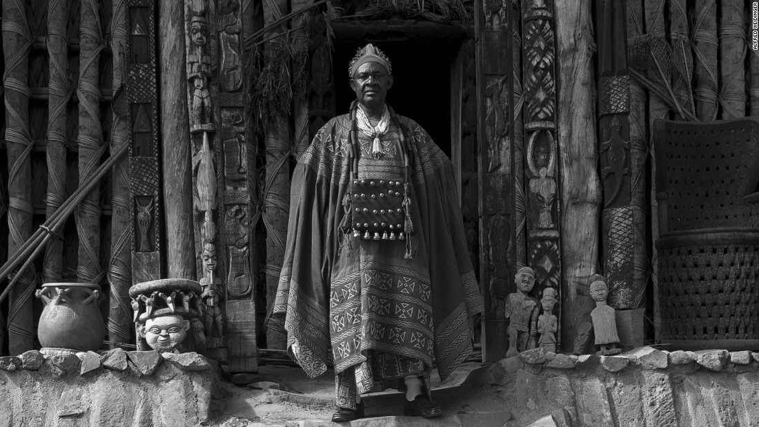 Fon Abumbi II, who is the traditional ruler of Bafut in Cameroon's Northwest Province, has been on the throne for 47 years. When he became king, or fon, at 16, he inherited not only the responsibilities of the title but also his late father's wives.